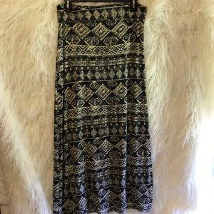 Rue21 maxi skirt NWT